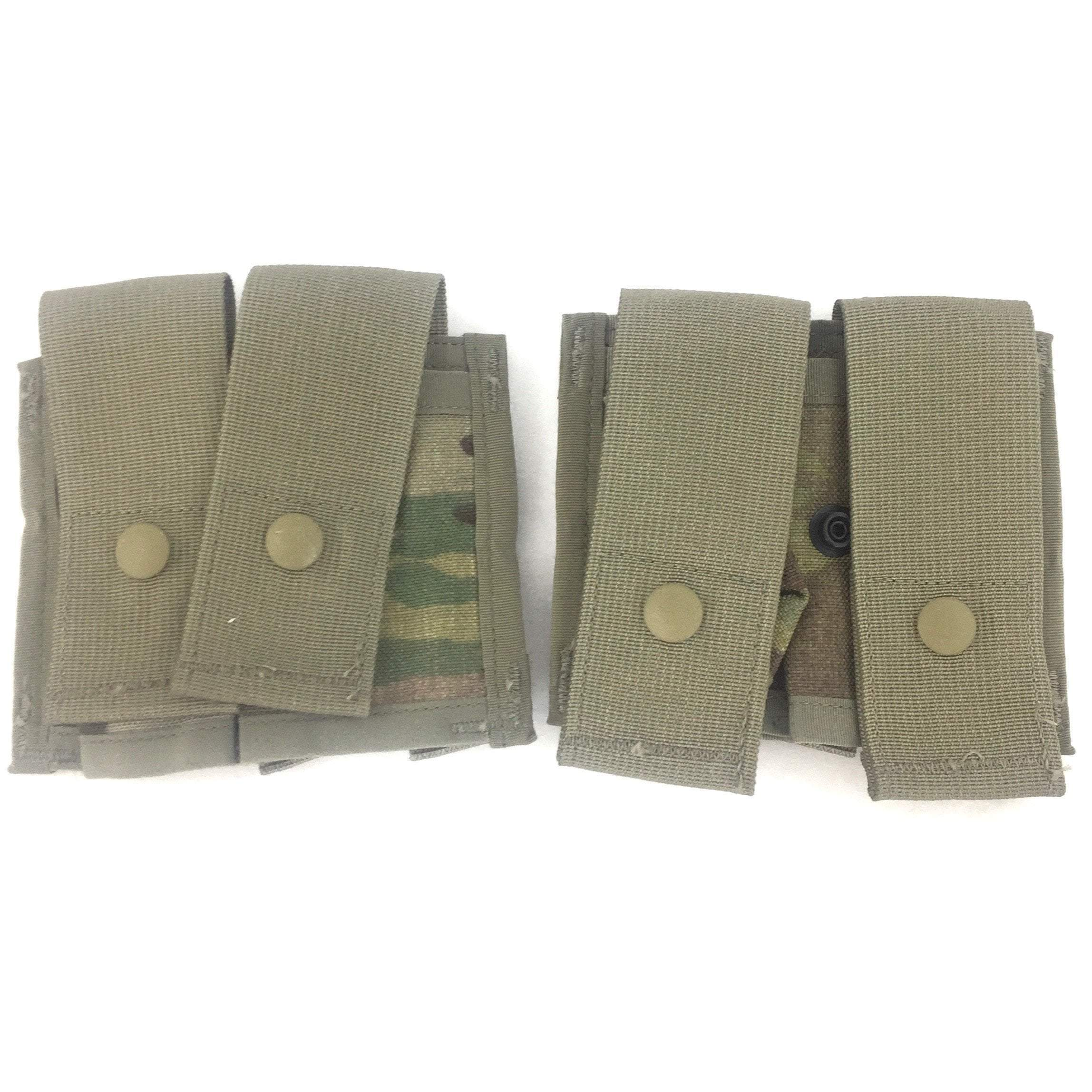 2 Multicam Double Pyrotechnic Pouches