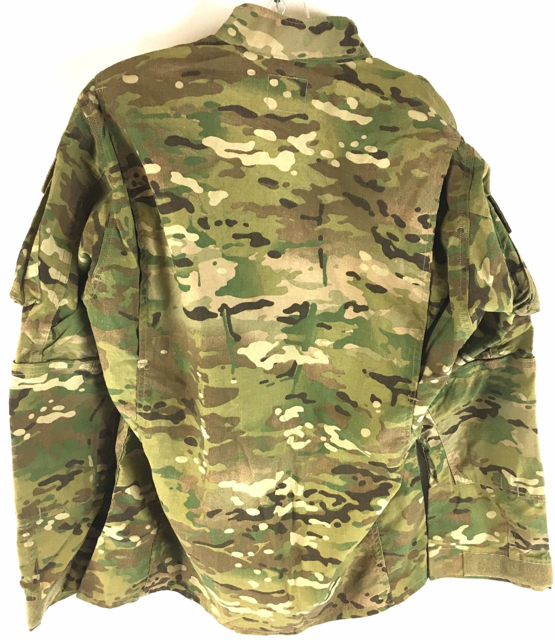 Army Multicam OCP Flame Resistant Coat with Hook and Loop Sleeve Cuffs