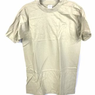 Army Sand Tan T-Shirt 3 Pack, Crew Neck Comfort Combed Cotton Shirts by CAC