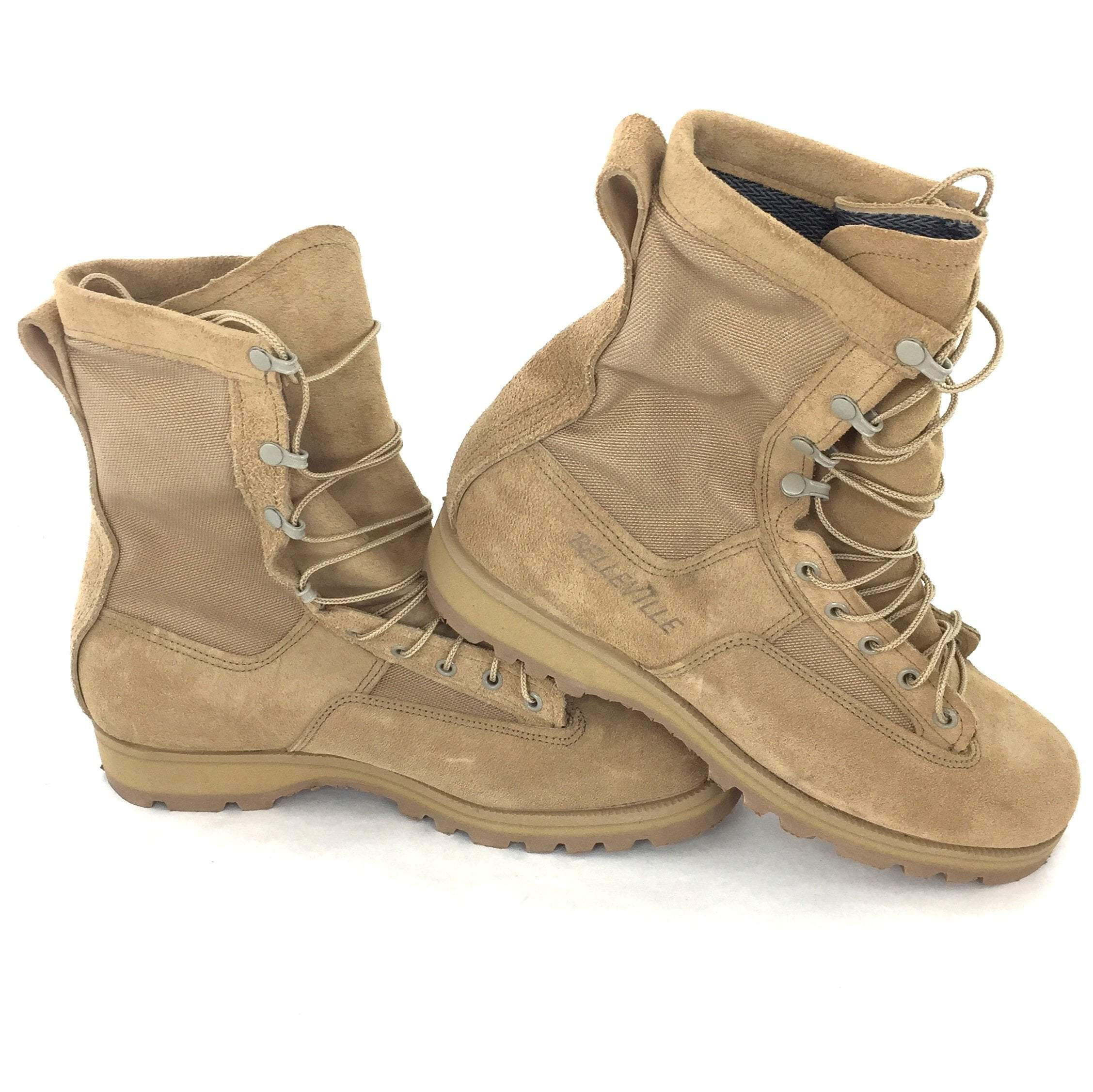 Belleville Temperate Weather Combat Boots, Size 11R Sand Tan, 03-D-0322