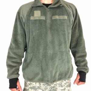 ECWCS-LEVEL-3-Army-Polar-Fleece-Jacket-POLARTEC-Foliage-Green