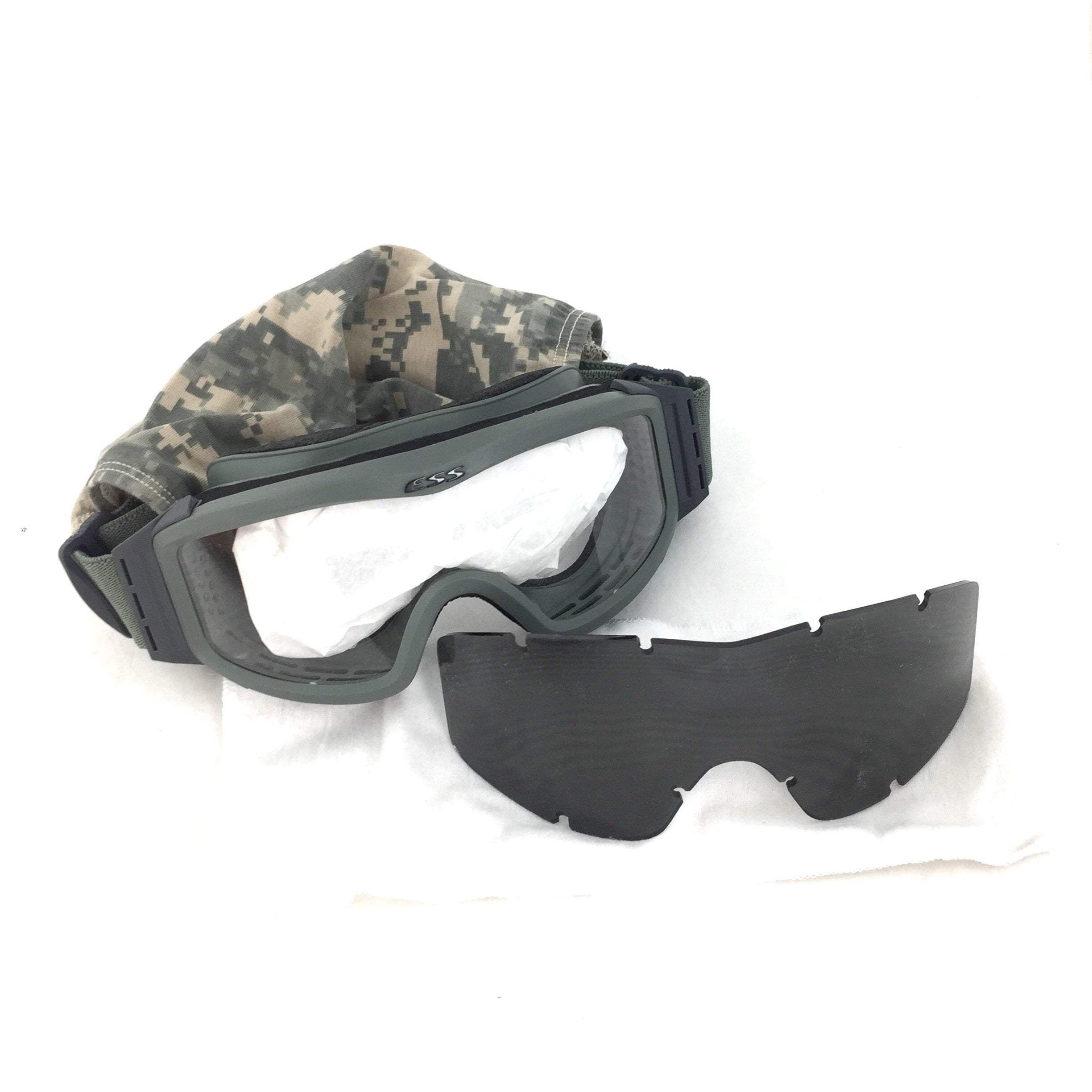 ESS Profile Goggles with Ballistic Clear & Dark Lens