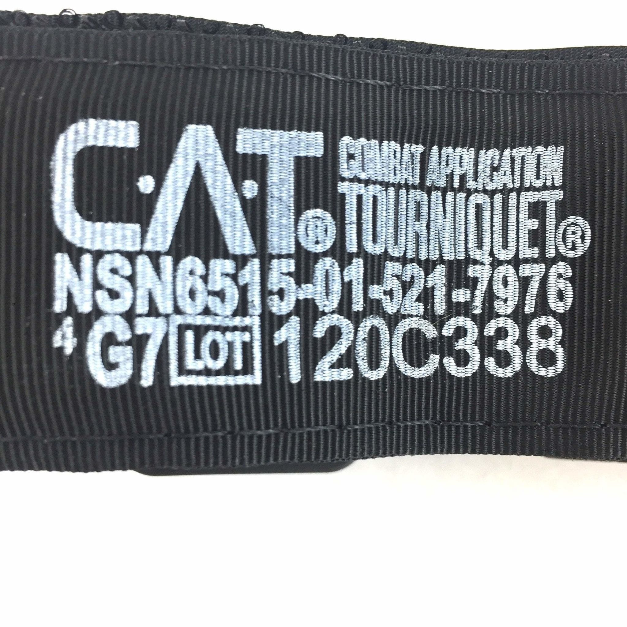 GEN 7 Black Tip CAT Combat Application Tourniquet