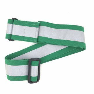 Green Reflective Elastic PT Belt with Buckle