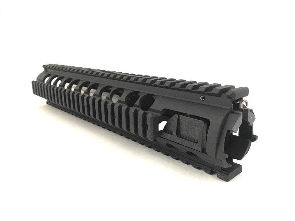 Knights Armament M5 Quad Rail Set w/ Rail Covers & Grip
