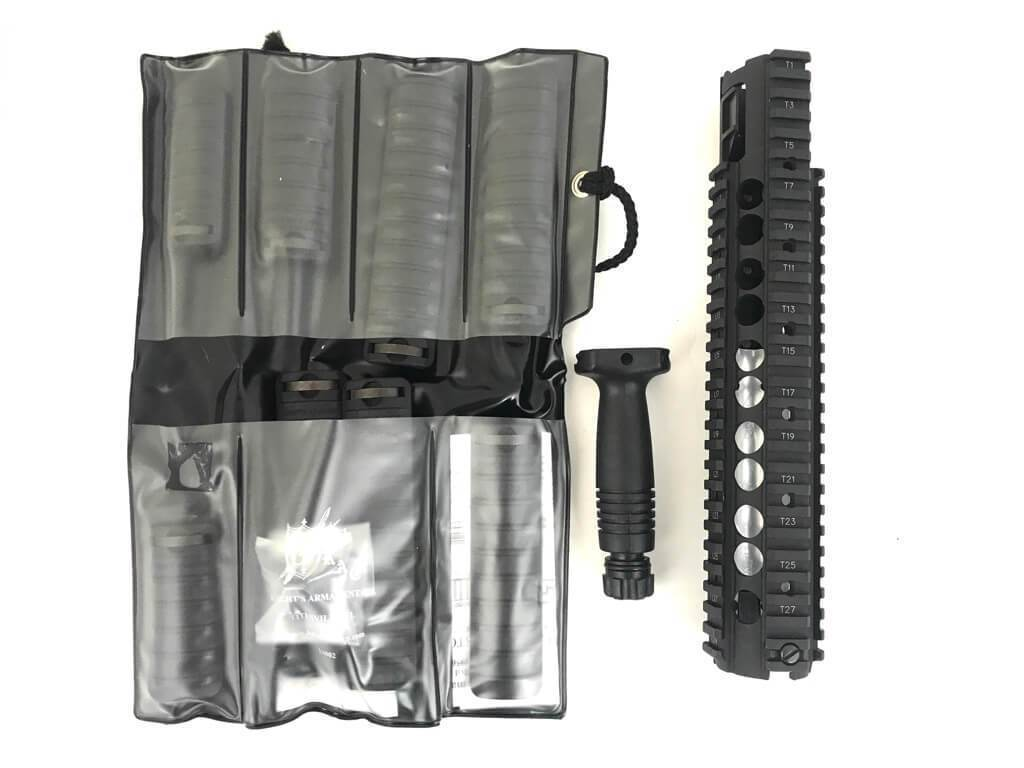 Knights Armament Rail Cover Set w/ Vertical Grip