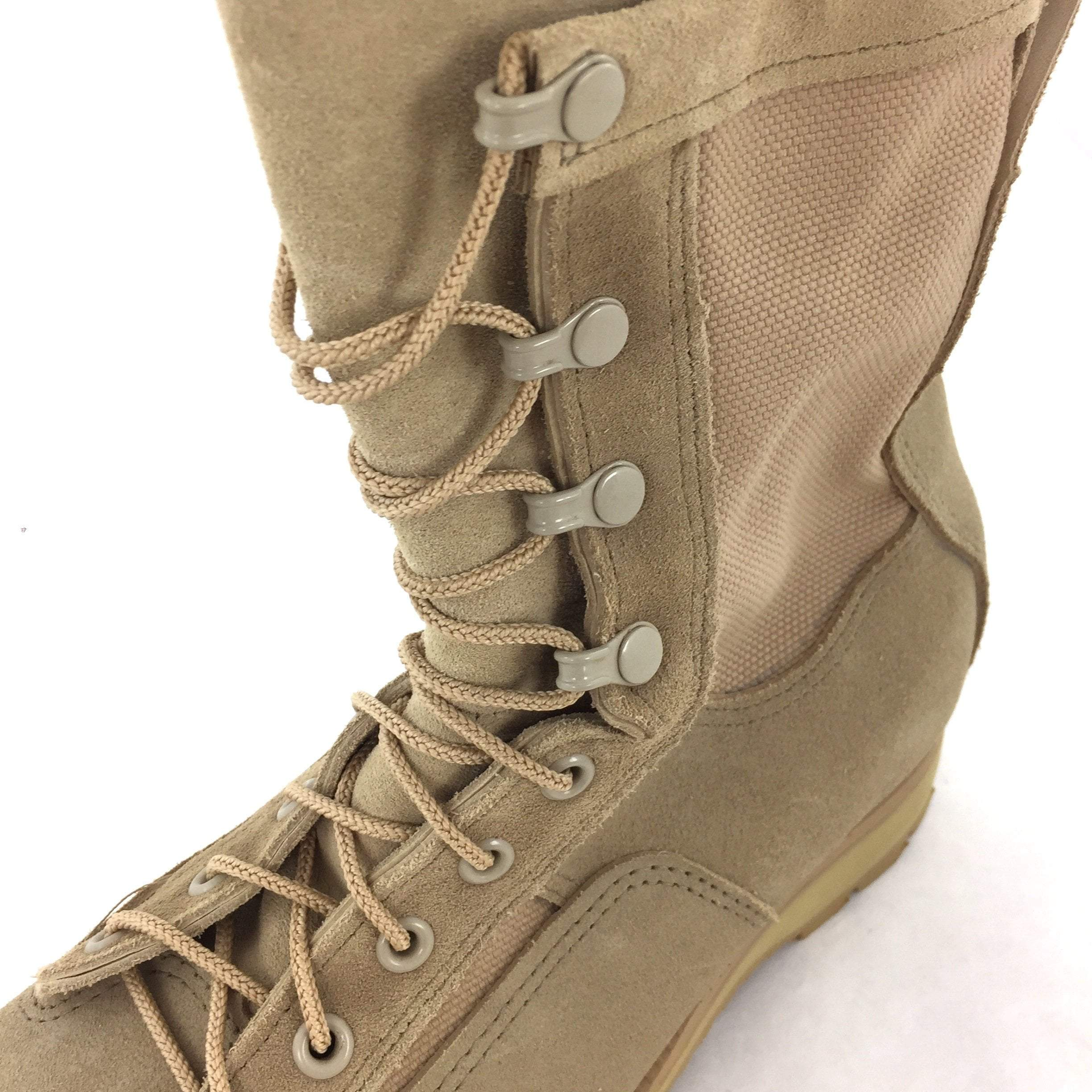 McRae Temperate Weather Combat Boots, Size 5.5W Sand Tan, 09-D-0011