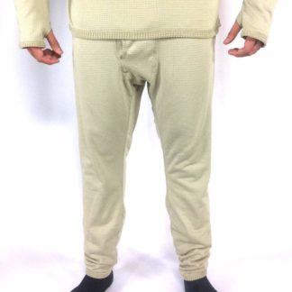 Military Thermal Pants, ECWCS Level 2 Mid Weight Drawers Gen III Waffle Pants