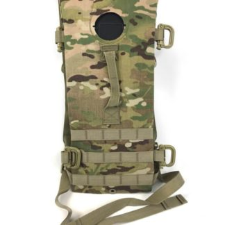 Multicam Hydration Backpack Water Carrier, Army 100oz Pack, No Bladder