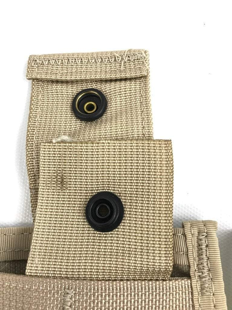 NEW Desert MOLLE Rifleman Triple Mag