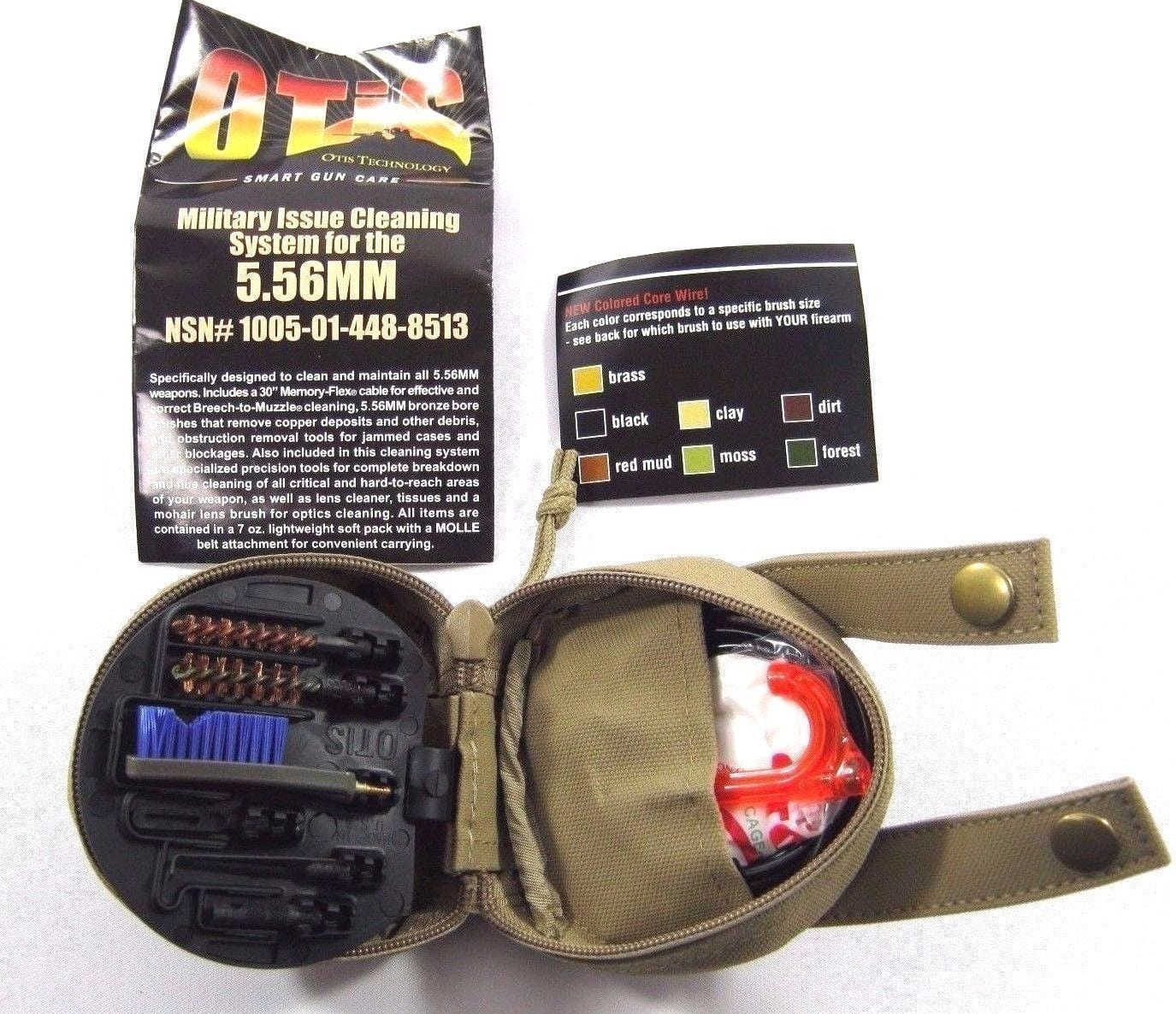 Otis 5.56mm Military Gun Cleaning System Kit, 223-2