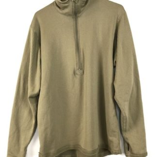 POLARTEC Level 2 Waffle Thermal Undershirt, Coyote Brown