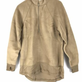 Polartec Mid-Weight FREE Shirt, 1/2 Zip Tan