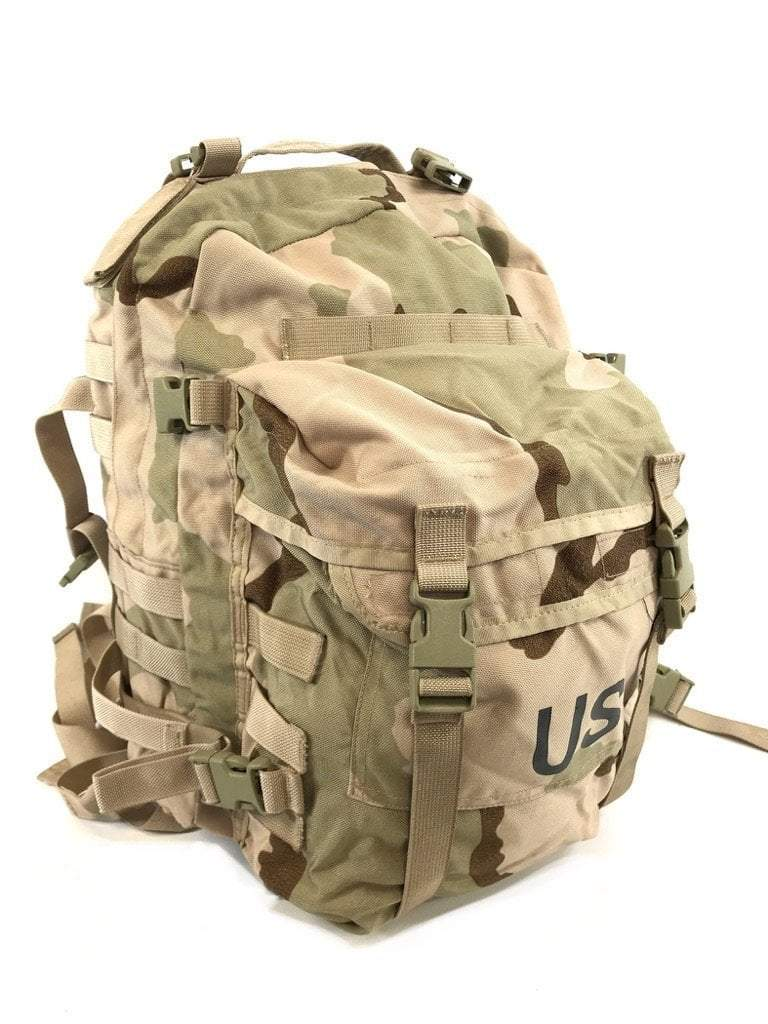 Pre-owned Army Desert Camo 3 Day Assault Pack, DCU