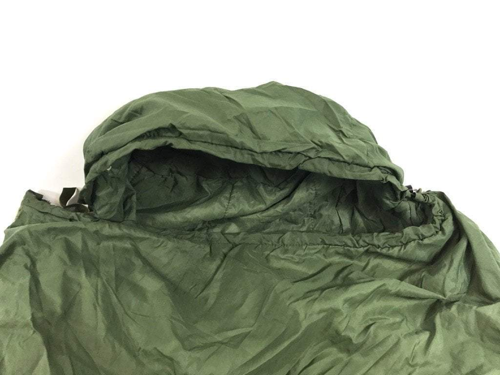 Pre-Owned Military Issue Green Patrol Sleeping Bag for BDU MSS
