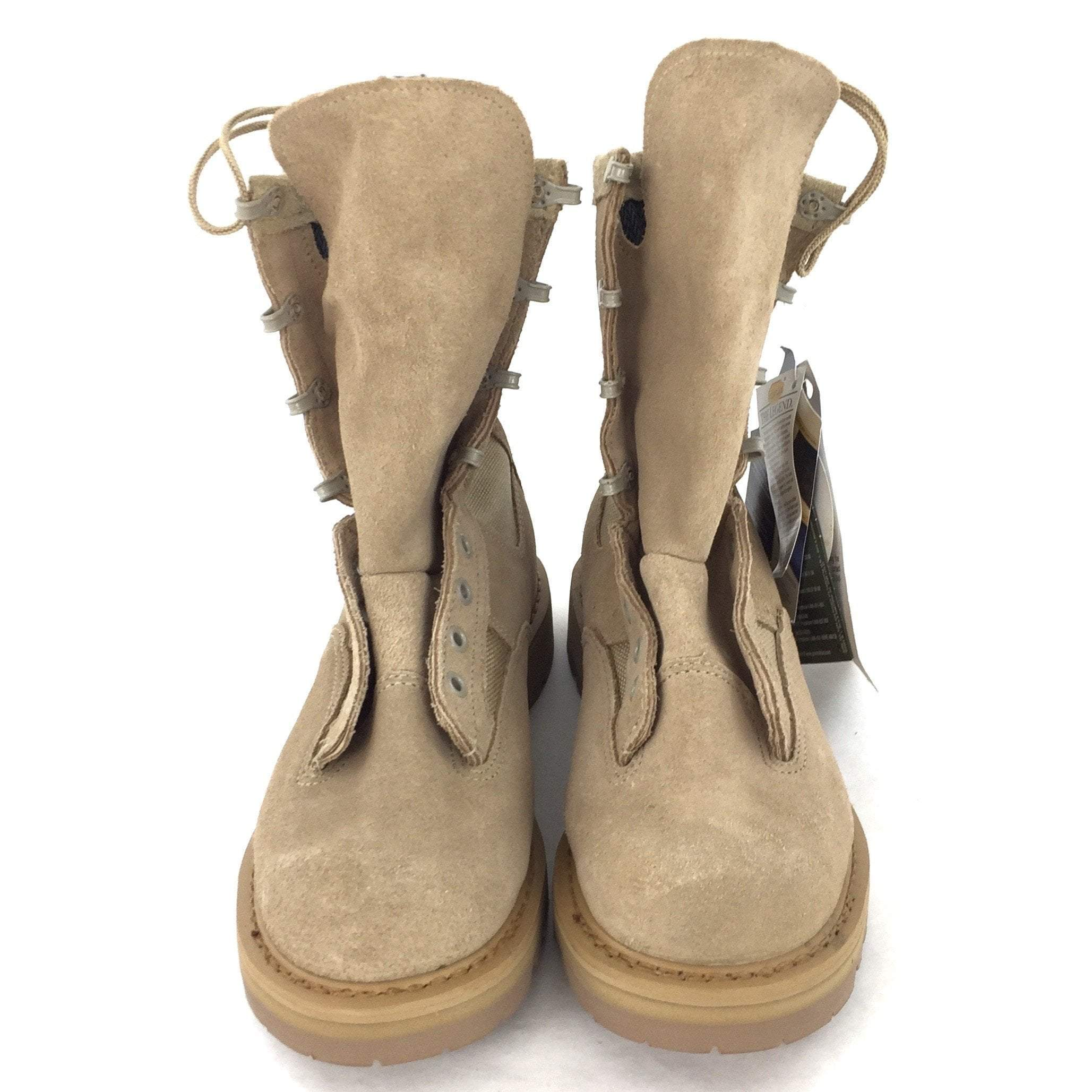 Rocky Temperate Weather Combat Boots, Size 6XW Sand Tan, 790G