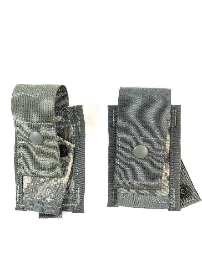 Set of 2 40mm Single Grenade ACU Pouches