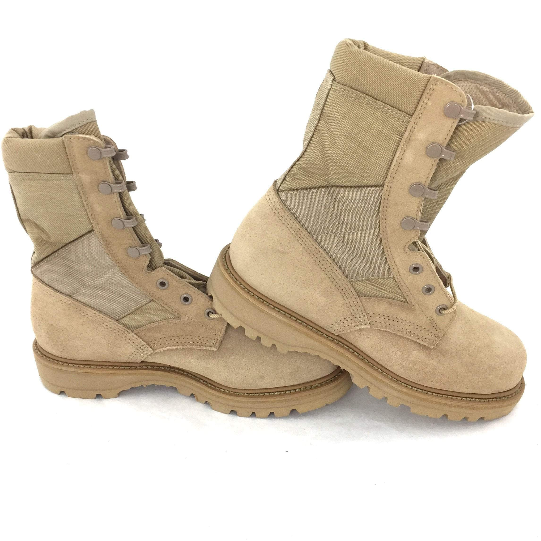 Thorogood Hot Weather Boots, Size 7.5W Desert Tan