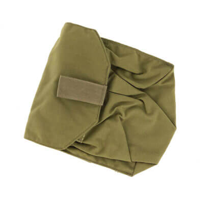 Used Eagle Industries Gas Mask pouch Khaki Overall