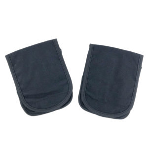 2 Pack, PEQ-15 Carry Pouch, Black Overall