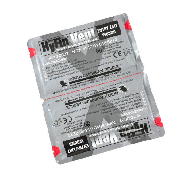 Twin Pack of Hyfin Vent Chest Seals